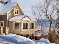 Chalet à louer Baie St-Paul - Les Echos Du Fleuve