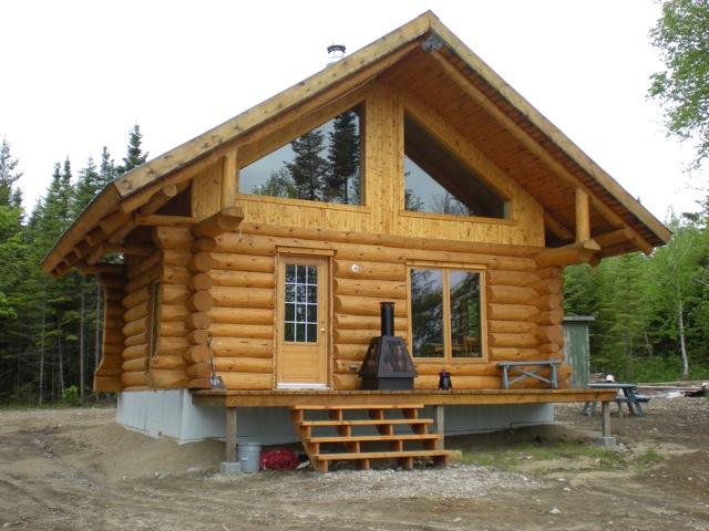 Chalet en bois a vendre for Chalet bois 80m2