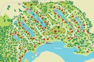 Plan du village touristique - Au Chalet en Bois Rond
