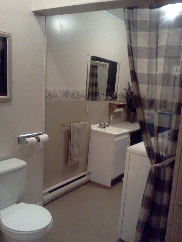 #5E4E47 Site Magnifique D'la Bonaventure Chalet à Louer Bas  2649 petite salle de bain avec laveuse secheuse 1024x1365 px @ aertt.com