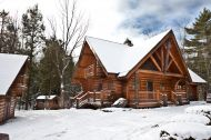 Chalet Bois Rond Orford - Orford