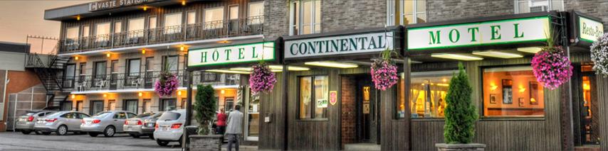 H tel motel abitibi t miscamingue continental centre ville for Continental centre hotel