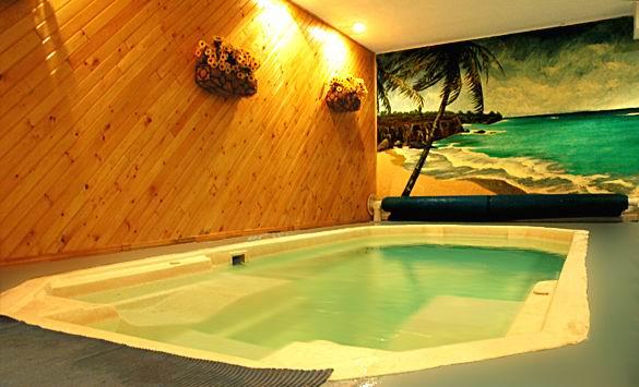 Chalet louer laurentides chalet le futuriste www for Club piscine des laurentides