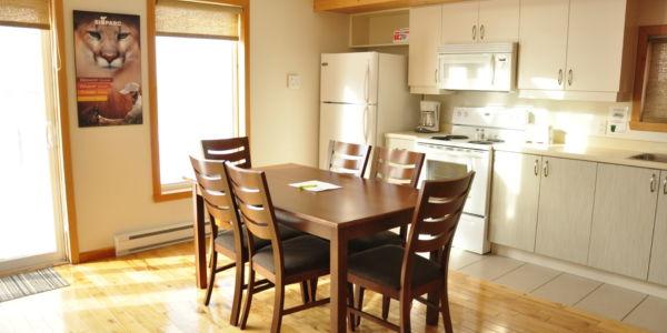 Cuisine - Chalet à deux chambres