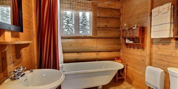 Salle de bain - Chalet Raton-Laveur