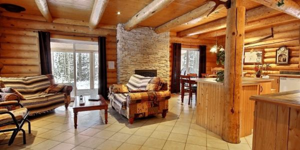 Aire ouverte- Chalet Ours Blanc