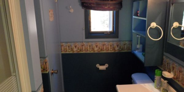 Salle de bain privée du # 1, avec douche