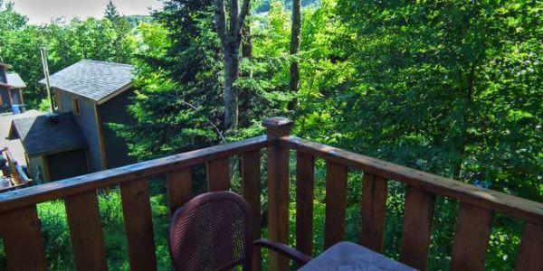 16 chemin Alpin - Vue du patio