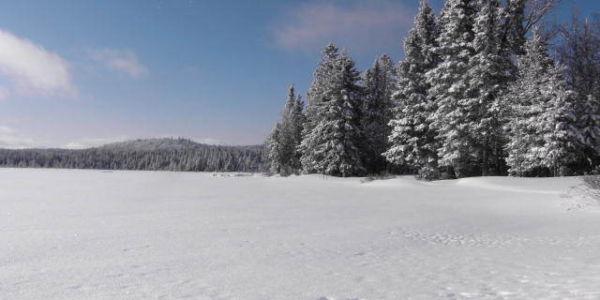 Le lac l hiver