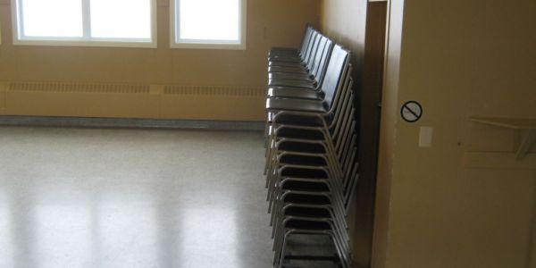 200 chaises Grande salle