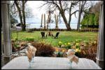 Chalet à louer Chalet Au Bord De L'eau - Lac Memphrémagog Une vue magnifique pendant un bon souper aux chandelles