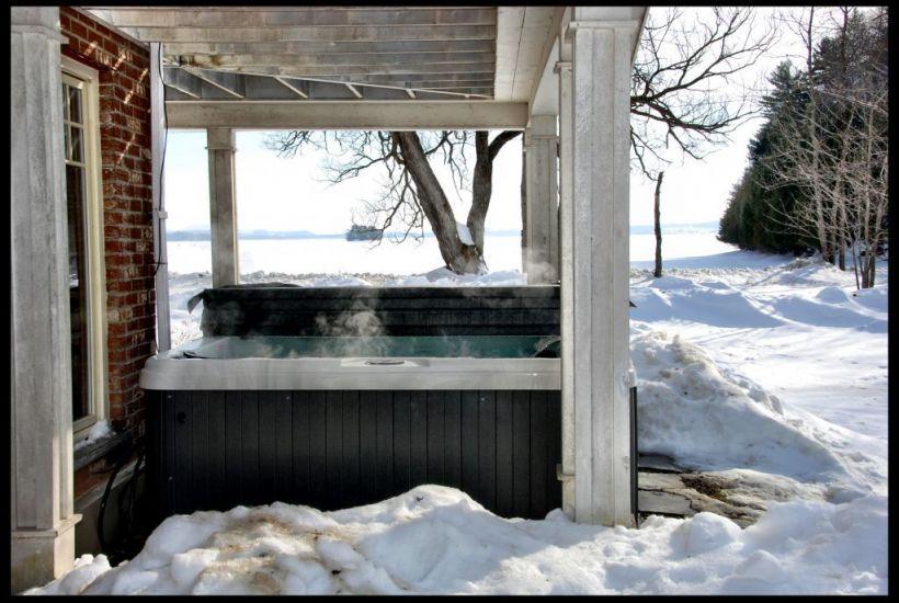 Chalet à louer Chalet Au Bord De L'eau - Lac Memphrémagog