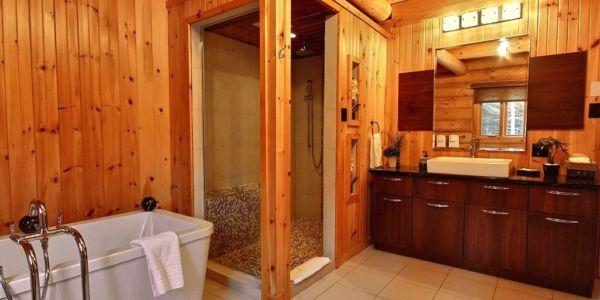 Salle de bain - Chalet Carcajou
