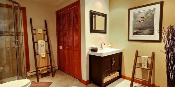 Salle de bain avec douche - Chalet Sitelle