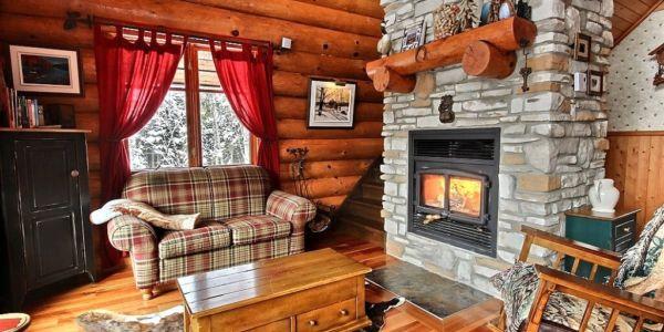 Foyer au bois - Chalet Sitelle
