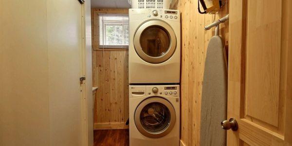 Salle de lavage - Chalet Aigle Royal