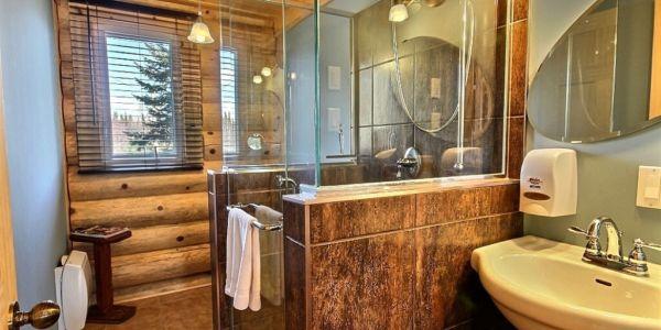Salle de bain - Chalet Loutre