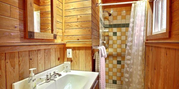 Salle de bain - Chalet Défricheur