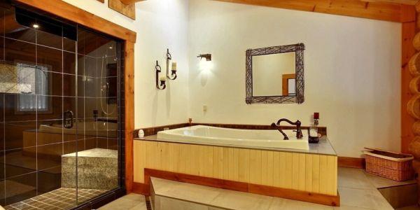 Salle de bain - Chalet Bernache