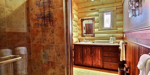 Salle de bain - chalet Nirvana