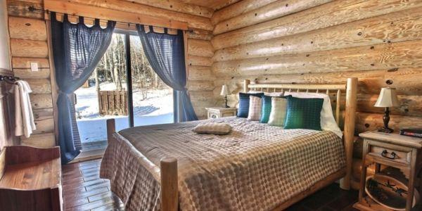 Chambre avec lit Queen - Chalet Nirvana