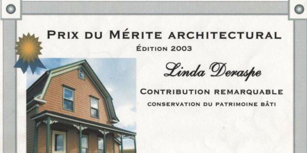 Prix du mérite architectural