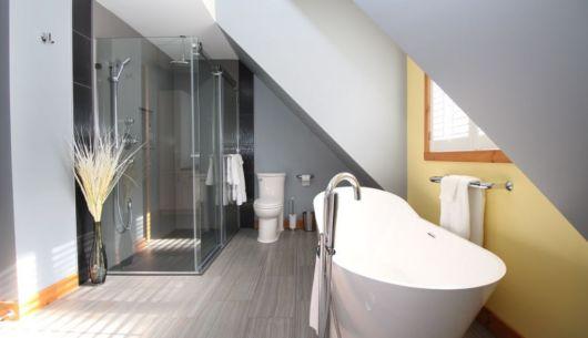 Salle de bain, chambre des maitres