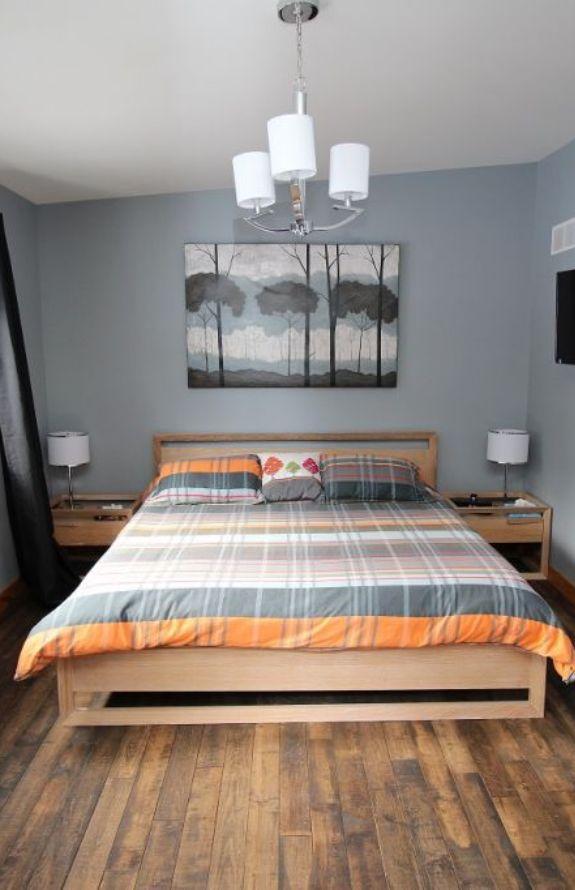 Chalet Movendo - Très grand lit, grande chambre premier niveau