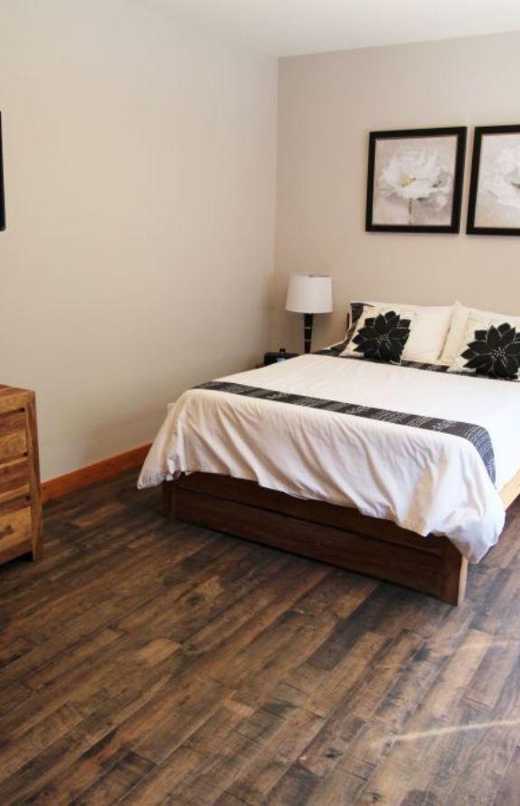 Chalet Movendo - Grand lit, chambre au rez-de-chaussé