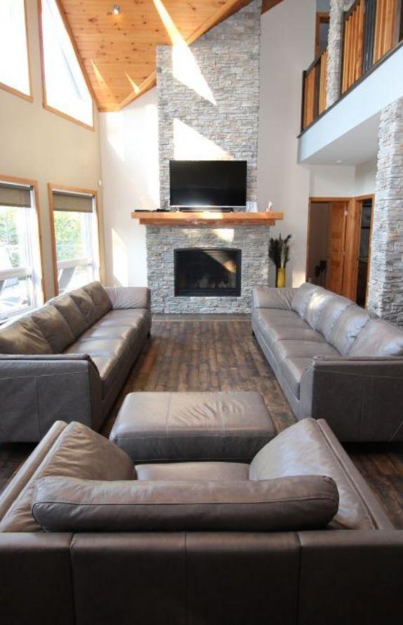 Chalet Movendo - Salon et Foyer