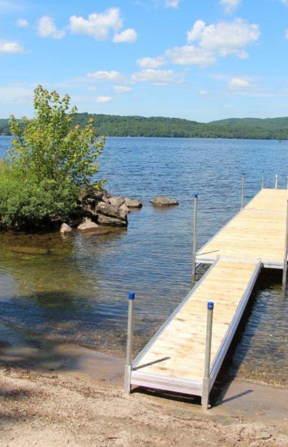 Chalet Movendo - Lac et quai