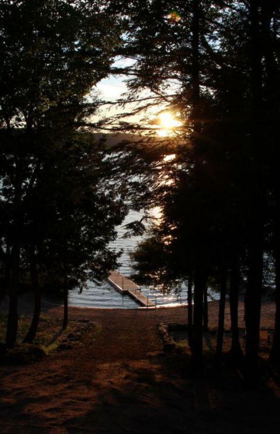 Chalet Movendo - Coucher de soleil