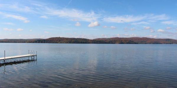 Lac Simon en automne