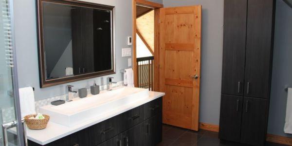 Salle de bain premier niveau