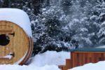 Chalet à louer Fiddler Lake Resort: Chalet 50 Chalets Spa / sauna