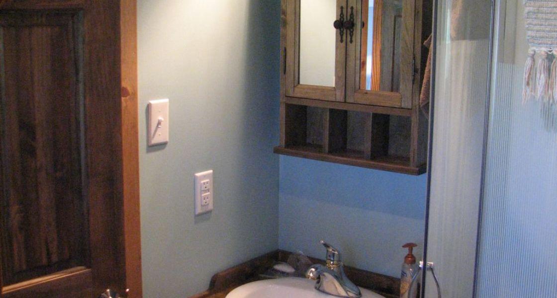 Hébergements Cormier Studio - Chambre de bain avec douche