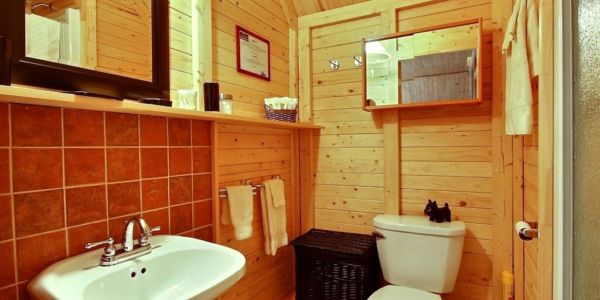 Salle de bain - Chalet Loup Blanc