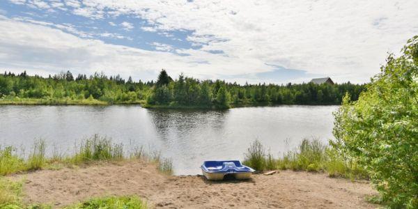 Accès au lac - Chaletbalbuzard