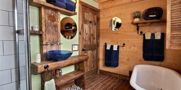 Salle de bain - Chalet Triskel