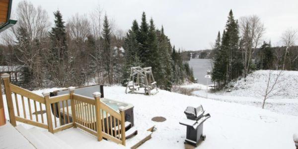 L'hivers au chalet - Chalet Grand-Pic