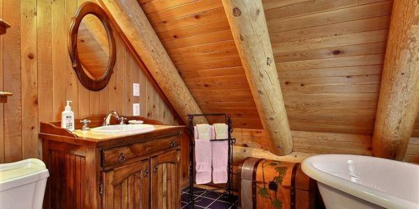 Salle de bain - Chalet Grand-Pic