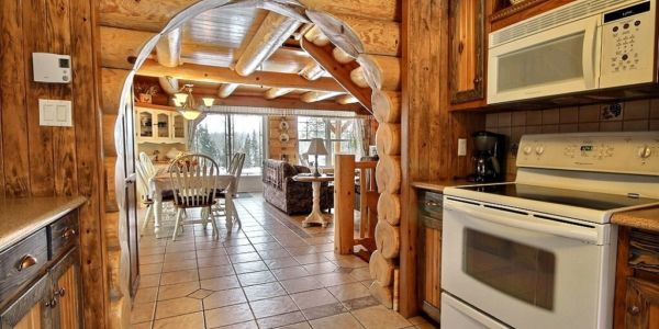 Aire ouverte - Chalet Grand-Pic