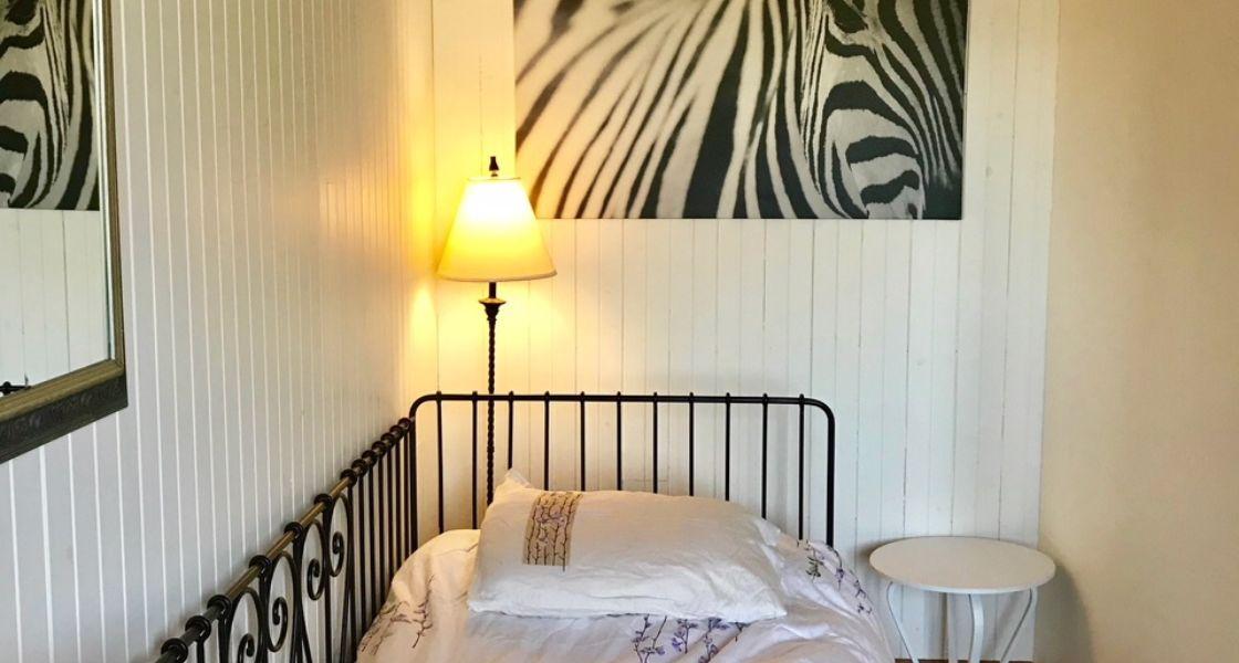 Maison Azur-Marine - Suite king, section lit simple