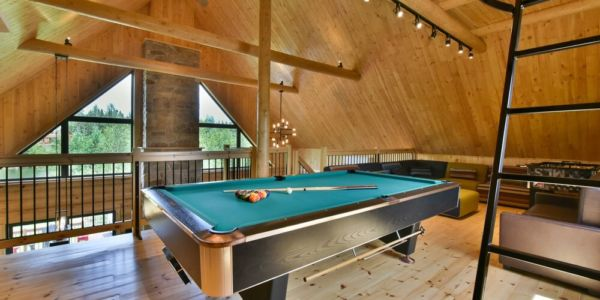 Table de billard - Chalet Perséides