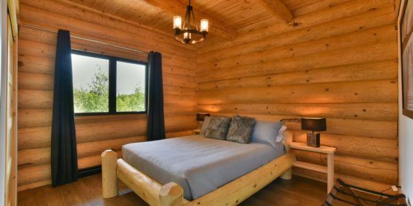 Chambre avec lit Queen - Chalet Perséides