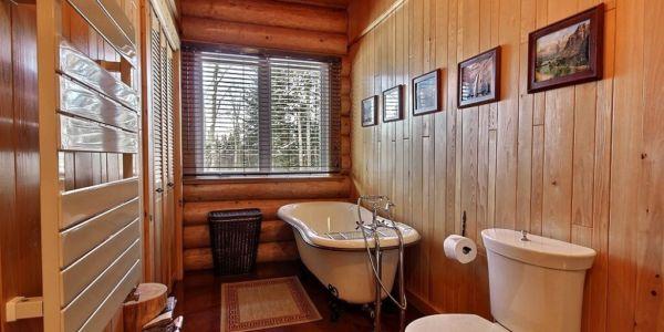 Salle de bain - Chalet Natif