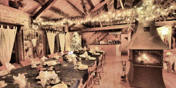 Salle à dîner pour 30 personnes