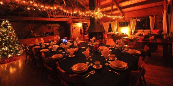 Salon, salle à dîner et Bar