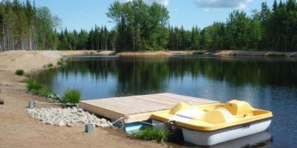 Accès au Lac - Chalet Castor
