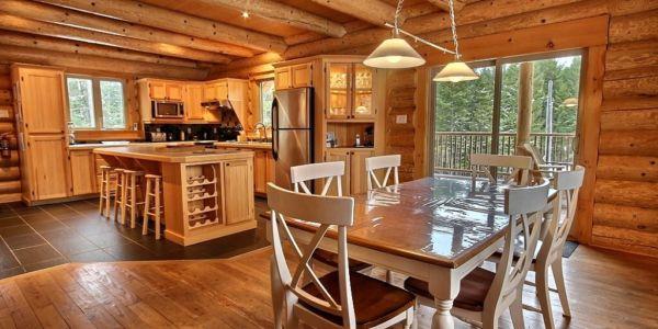 Cuisine et salle à manger - Chalet Castor